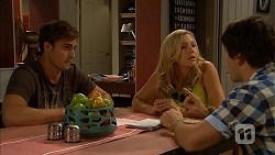 Kyle Canning, Georgia Brooks, Chris Pappas in Neighbours Episode 6928