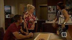 Mark Brennan, Sheila Canning, Naomi Canning in Neighbours Episode 6928