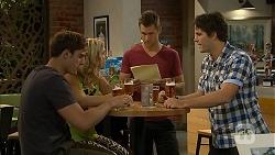 Kyle Canning, Georgia Brooks, Mark Brennan, Chris Pappas in Neighbours Episode 6928