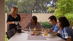 Terese Willis, Brad Willis, Josh Willis, Imogen Willis in Neighbours Episode 6929