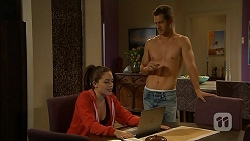 Paige Novak, Mark Brennan in Neighbours Episode 6929