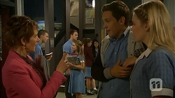 Susan Kennedy, Josh Willis, Amber Turner in Neighbours Episode 6930