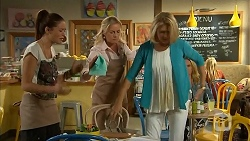 Paige Novak, Lauren Turner, Kathy Carpenter in Neighbours Episode 6930