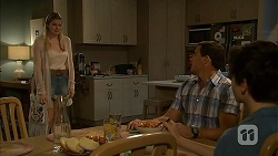 Amber Turner, Matt Turner, Bailey Turner in Neighbours Episode 6932