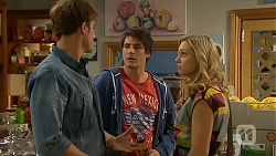 Kyle Canning, Chris Pappas, Georgia Brooks in Neighbours Episode 6934