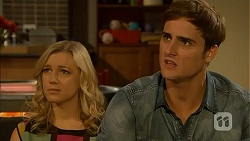 Georgia Brooks, Kyle Canning in Neighbours Episode 6934