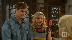 Kyle Canning, Georgia Brooks, Sheila Canning in Neighbours Episode 6934
