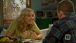 Georgia Brooks, Toadie Rebecchi in Neighbours Episode 6935