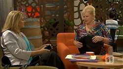 Kathy Carpenter, Sheila Canning in Neighbours Episode 6937