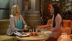Kathy Carpenter, Megan Dennison in Neighbours Episode 6937