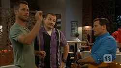 Mark Brennan, Toadie Rebecchi, Matt Turner in Neighbours Episode 6941
