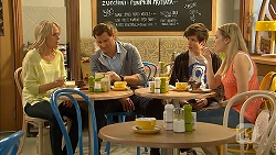 Lauren Turner, Matt Turner, Bailey Turner, Amber Turner in Neighbours Episode 6942