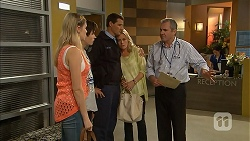 Amber Turner, Bailey Turner, Matt Turner, Lauren Turner, Karl Kennedy in Neighbours Episode 6942
