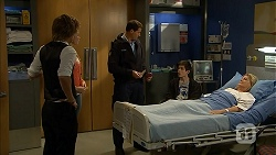 Daniel Robinson, Amber Turner, Matt Turner, Bailey Turner, Kathy Carpenter in Neighbours Episode 6943