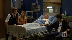 Daniel Robinson, Amber Turner, Kathy Carpenter, Bailey Turner in Neighbours Episode 6943