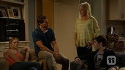 Amber Turner, Matt Turner, Lauren Turner, Bailey Turner in Neighbours Episode 6944