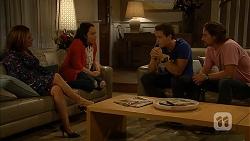 Terese Willis, Imogen Willis, Josh Willis, Brad Willis in Neighbours Episode 6944