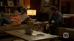 Amber Turner, Daniel Robinson, Paul Robinson in Neighbours Episode 6944