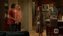 Brad Willis, Lauren Turner, Paige Smith, Mark Brennan in Neighbours Episode 6944
