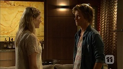 Amber Turner, Daniel Robinson in Neighbours Episode 6945