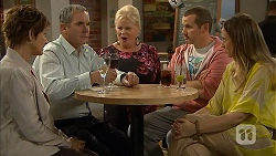 Susan Kennedy, Karl Kennedy, Sheila Canning, Toadie Rebecchi, Sonya Mitchell in Neighbours Episode 6945