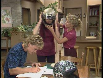 Henry Ramsay, Madge Bishop, Charlene Mitchell in Neighbours Episode 0449