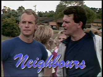 Jim Robinson, Des Clarke in Neighbours Episode 0449