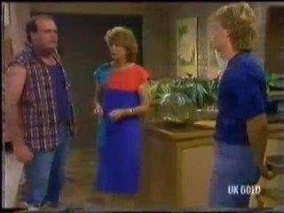 Ivan, Madge Bishop, Henry Ramsay in Neighbours Episode 0451