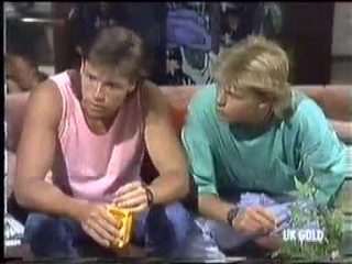 Mike Young, Scott Robinson in Neighbours Episode 0452