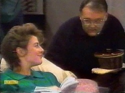 Gail Robinson, Harold Bishop in Neighbours Episode 0776