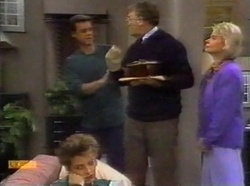 Paul Robinson, Harold Bishop, Helen Daniels, Gail Robinson in Neighbours Episode 0776