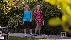 Georgia Brooks, Sheila Canning in Neighbours Episode 6946