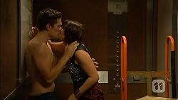 Josh Willis, Naomi Canning in Neighbours Episode 6947