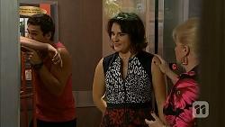 Josh Willis, Naomi Canning, Sheila Canning in Neighbours Episode 6947