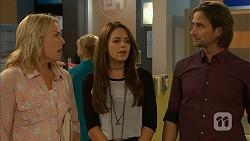 Lauren Turner, Paige Smith, Brad Willis in Neighbours Episode 6947
