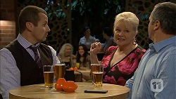 Toadie Rebecchi, Sheila Canning, Karl Kennedy in Neighbours Episode 6948