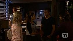 Matt Turner, Lauren Turner, Paige Novak, Mark Brennan, Brad Willis in Neighbours Episode 6948