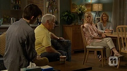 Bailey Turner, Lou Carpenter, Lauren Turner, Kathy Carpenter in Neighbours Episode 6948