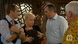 Toadie Rebecchi, Sheila Canning, Karl Kennedy, Lou Carpenter in Neighbours Episode 6948