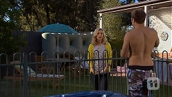 Georgia Brooks, Kyle Canning in Neighbours Episode 6949