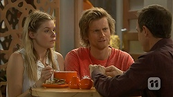 Amber Turner, Daniel Robinson, Paul Robinson in Neighbours Episode 6949