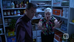Paul Robinson, Sheila Canning in Neighbours Episode 6949