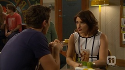 Josh Willis, Naomi Canning in Neighbours Episode 6950
