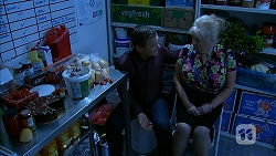 Paul Robinson, Sheila Canning in Neighbours Episode 6950