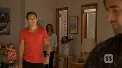 Josh Willis, Terese Willis, Brad Willis in Neighbours Episode 6951