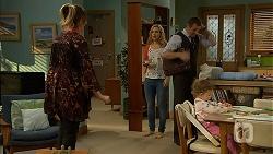 Sonya Mitchell, Georgia Brooks, Toadie Rebecchi, Nell Rebecchi in Neighbours Episode 6951
