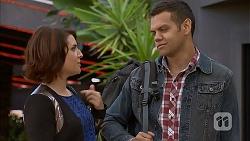 Naomi Canning, Nate Kinski in Neighbours Episode 6951