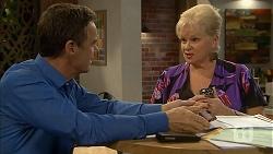 Paul Robinson, Sheila Canning in Neighbours Episode 6952