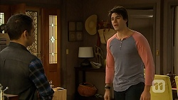 Nate Kinski, Chris Pappas in Neighbours Episode 6953
