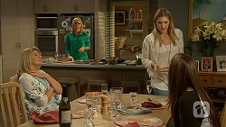 Kathy Carpenter, Lauren Turner, Amber Turner, Paige Novak in Neighbours Episode 6953